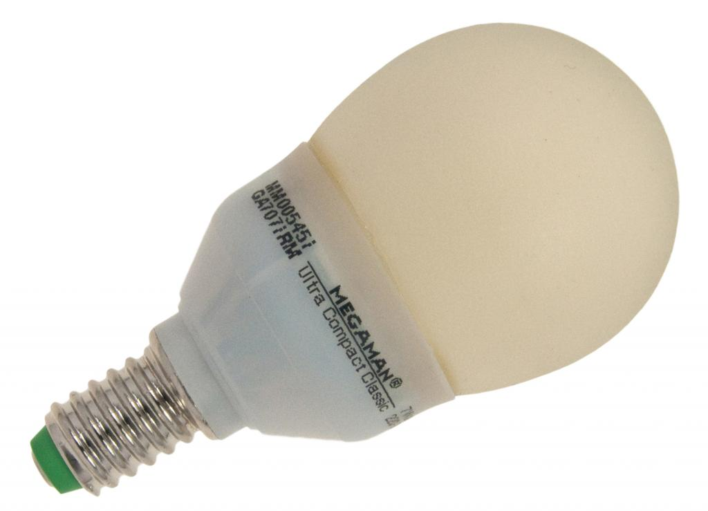 MEGAMAN MM00545 Zenia Classic CFL bol | E14 fitting | Energielabel A  MM00545