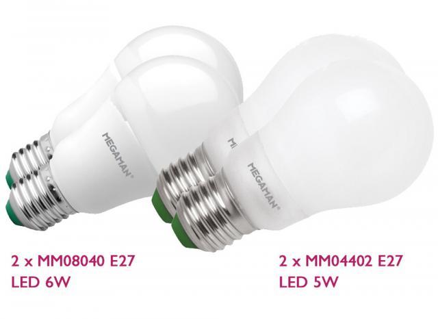Basis 4x LED voordeel pakket
