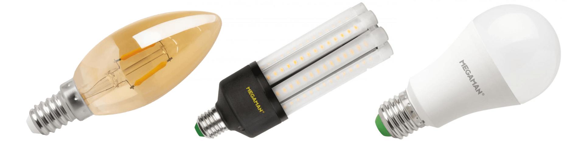 Energie zuinige verlichting led lampen megaman